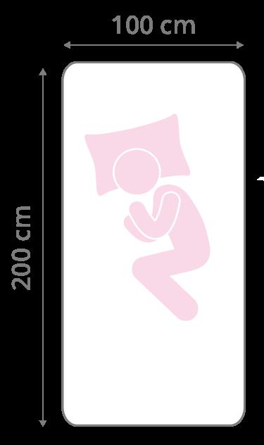 Matratze 100x200 cm