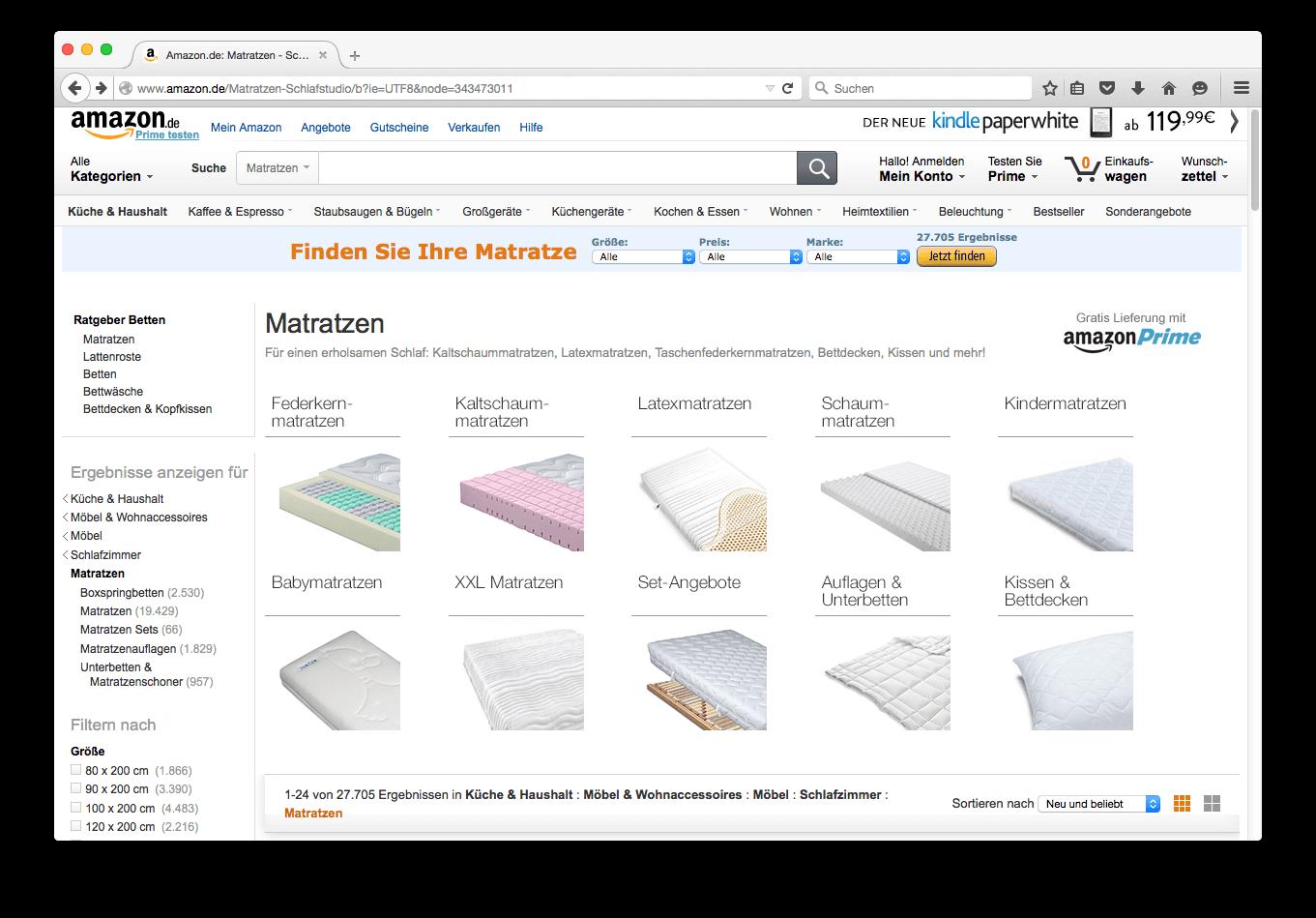 3cfcc706f0aaba Matratzen online kaufen oder im Fachgeschäft? Der Vergleich
