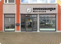 Ladengeschäft RAVENSBERGER® Matratzen GmbH München