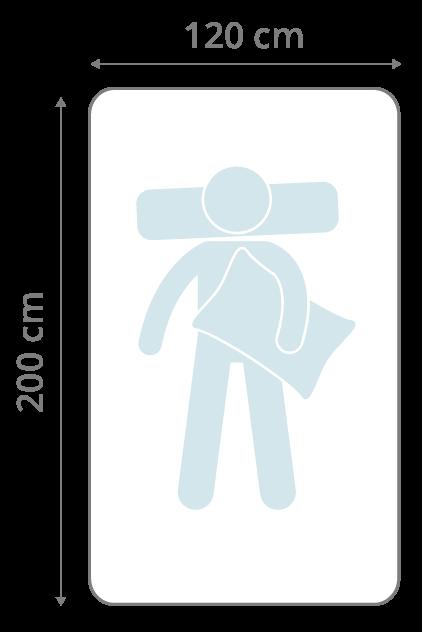 Matratze 120x200