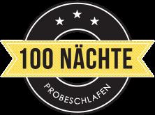100 Nächte Probeschlafen Icon