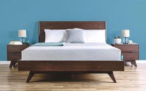 Leesa Matratze auf dem Bett Werbebild