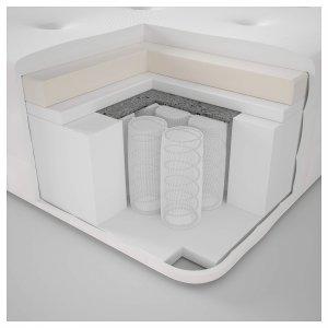 IKEA Hyllestad Taschenfederkernmatratze Aufbau