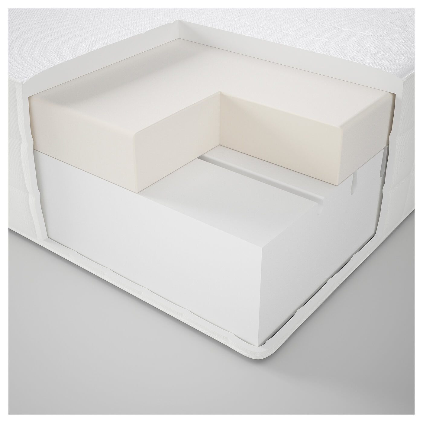 ikea matrand memoryschaummatratze im test 2019. Black Bedroom Furniture Sets. Home Design Ideas